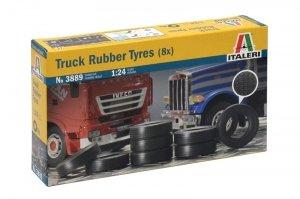 Italeri 3889 Truck Rubber Tyres 8 pcs 1/24