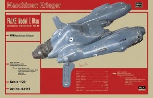 Hasegawa 64115 Falke Model I Otsu Antigravity Armored Raider Pkf.85 1/20
