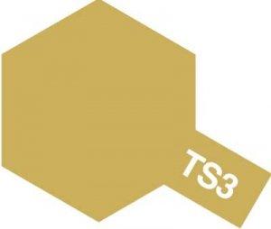 Tamiya TS3 Dark Yelow (85003)