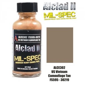 Alclad II ALC E302 US Vietnam Camouflage Tan FS595-30219 30ML
