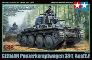 Tamiya 32583 German Panzer 38(t) Ausf.E/F (1:48)