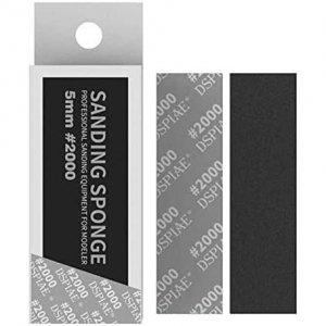 DSPIAE SS2-2000 2mm #2000 SANDING SPONGE 5 PCS / Gąbka do szlifowania