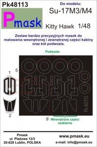 P-Mask PK48113 Su-17M3/M4 Kitty Hawk 1:48