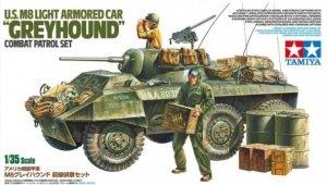 Tamiya 25196 US M8 Light Armored Car Greyhound Combat Patrol Set 1/35