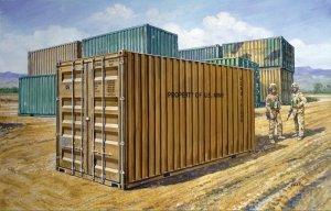 Italeri 6516 20' Military Container 1/35