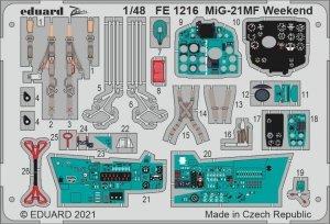 Eduard FE1216 MiG-21MF Weekend EDUARD 1/48