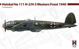 Hobby 2000 72048 Heinkel He-111H-2/H-3 Western Front 1940 1/72