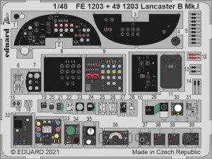 Eduard FE1203 Lancaster B Mk.I  HK Models 1/48