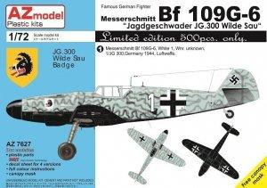 AZ Model AZ7627 Bf 109G-6 JG.300 1/72