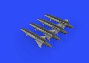Eduard 672191 RS-2US missiles for MiG-21 EDUARD 1/72