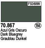 Vallejo 70867 Dark Bluegrey (164)