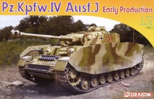 Dragon 7409 Pz.Kpfw.IV Ausf.J Early Production 1/72