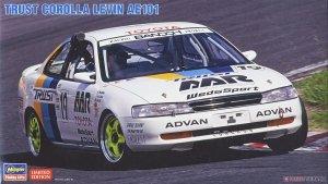Hasegawa 20463 Trust Corolla Levin AE101 1/24