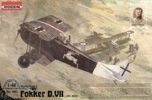 Roden 421 Fokker D.VII (Alb, early) World War I