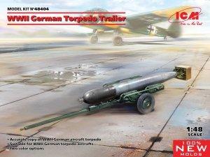 ICM 48404 WWII German Torpedo Trailer 1/48