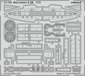 Eduard 73742 Buccaneer S.2B AIRFIX 1/72