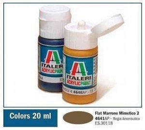 Italeri 4641 FLAT MARRONE MIMETICO 2. 20ml