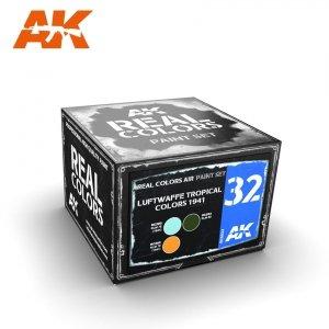 AK Interactive RCS032 LUFTWAFFE TROPICAL COLORS 1941 3x10ml