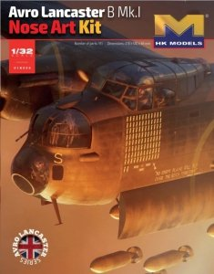 HK MODELS 01E033 Avro Lancaster B Mk.I Nose Art Kit 1/32