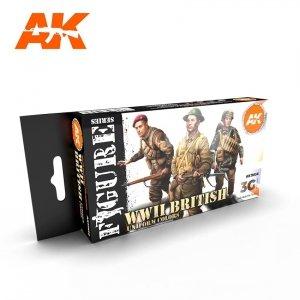 AK Interactive AK 11636 WWII BRITISH UNIFORM COLORS