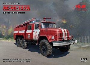 ICM 35519 AC-40-137A Soviet Firetruck 1/35