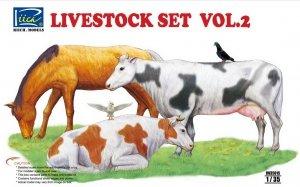 Riich Models RV35015 Livestock Set Vol.2 (1:35)