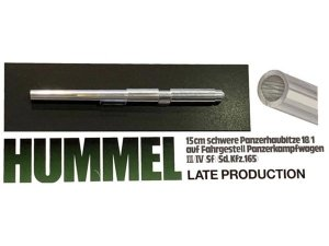 Tamiya 12688 German Hummel Metal Gun Barrel 1/35
