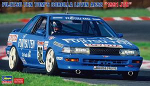 Hasegawa 20492 Fujitsu Ten Tom's Corolla Levin AE92 1991 JTC 1/24
