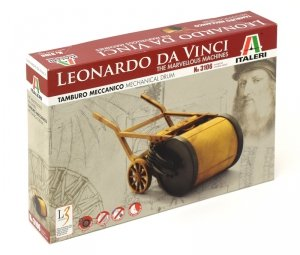 Italeri 3106 Leonardo Da Vinci Mechanical Drum