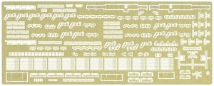 Hasegawa QG50 (72150) NYK Line Hikawa Maru Detail Up Etching Parts Super 1/350