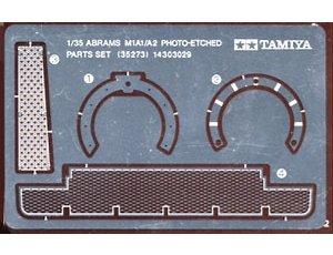 Tamiya 35273 M1A1/A2 Photo Etched Parts Set (1:35)