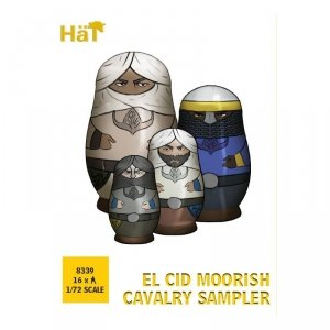 Hat 8339 El Cid Moorish Cavalry Sampler 1/72