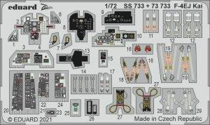 Eduard SS733 F-4EJ Kai for FINE MOLDS 1/72