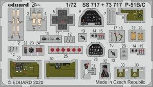 Eduard SS717 P-51B/ C 1/72 HOBBY 2000, HASEGAWA