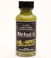 Alclad II ALC-E667 IJN Mitsubishi Interior Green 30 ML
