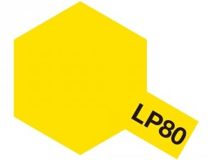 TAMIYA 82180 LP-80 Flat Yellow 10ml