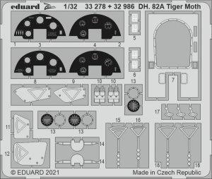 Eduard 33278 DH. 82A Tiger Moth ICM 1/32