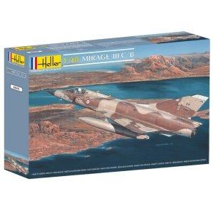 Heller 80411 Mirage III C/B 1/48