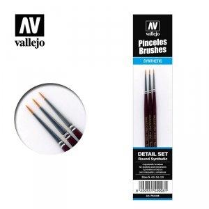 Vallejo Round Toray Detail Set (P54998)
