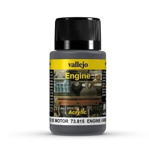Vallejo 73815 Engine Effects - Engine Grime 40 ml