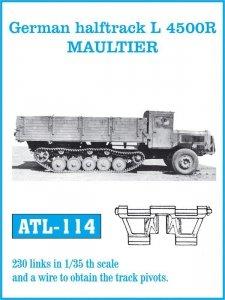 Friulmodel 1:35 ATL-114 German halftrack L 4500R MAULTIER