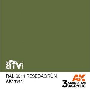 AK-Interactive AK 11311 RAL 6011 RESEDAGRÜN 17ml