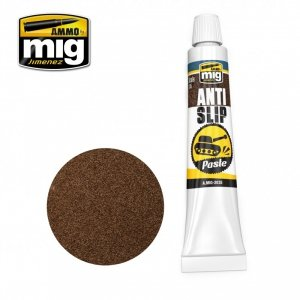 Ammo of Mig 2035 ANTI-SLIP PASTE - BROWN COLOR FOR 1/35