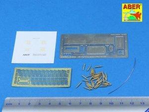 Aber 16047 50 cal. Ammunition with M2A1 box set for U.S. M2 Machine Gun 1/16