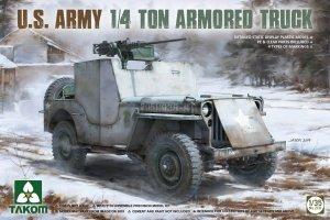 Takom 2131 U.S. Army 1/4 Ton Armored Truck 1/35