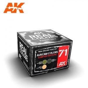 AK Interactive RCS071 AUSCAM COLORS SET (LIMITED EDITION) SET 3x10ml
