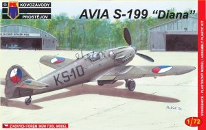 Kozavody Prostejov KPM0008 Avia S-199 Diana 1/72