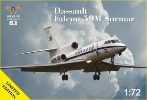 Sova 72015 Dassault Falcon 50M Surmar 1/72