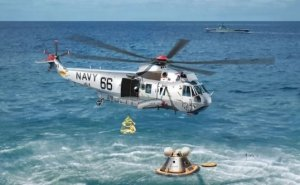Dragon 11026 Apollo Recovery SH-3D Helo 66 & Apollo Command Module  1/72