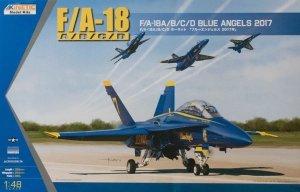 Kinetic K48073 F/A-18A/B/C/D Blue Angels 2017 1/48